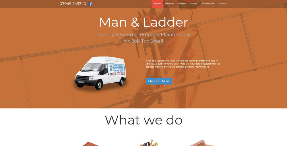Man & Ladder